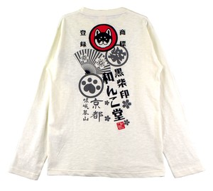 2018 Spring WANKODO Long Sleeve T-shirt