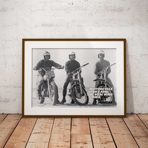 Bike Movie A3 Poster