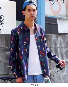 2018 S/S Revo. Bird Pattern Shirt Stocks