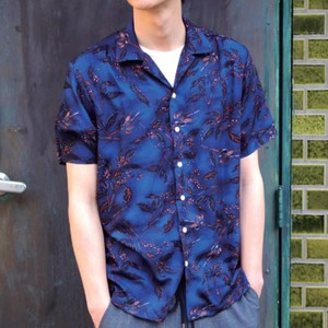 2018 S/S Revo. Leaf Pattern Open Color Short Sleeve Shirt
