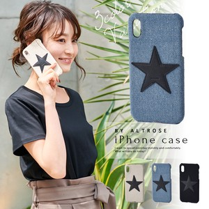 Clear Star Pattern iPhone Back Case Star