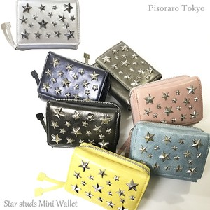 Star Studs Wallet Trifold Wallet Studs Wallet