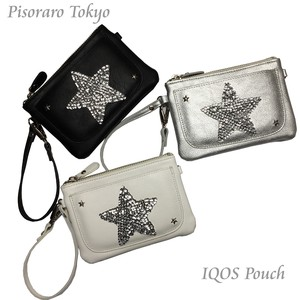 Star Multi Pouch Pouch Cosme Pouch Studs