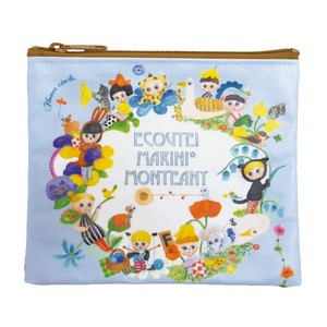 ECOUTE! Mini Pouch Flower Circle