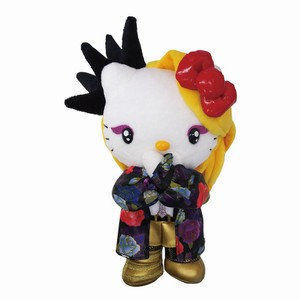 HELLO KITTY×X JAPAN YOSHIKIコラボ yoshikitty:ぬいぐるみM・2015・Xポーズ