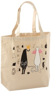 Tote Bag Size M Okabe Cat Angel
