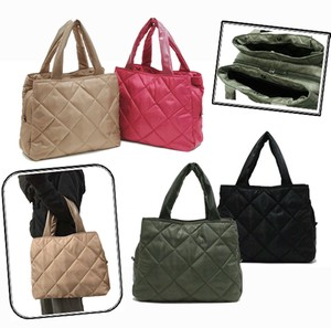 Diamond Quilt Effect Tote