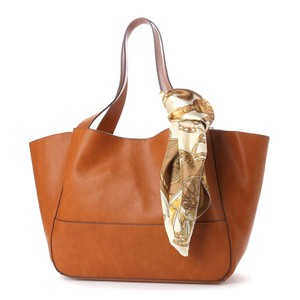 Scarf Attached Big Tote