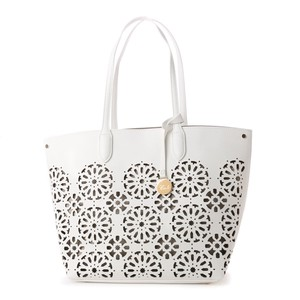 Laser Cut Punching Tote Bag