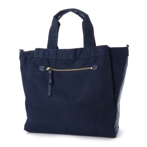 Pocket Nylon Boston Bag