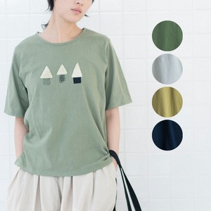 2018 S/S Half Length Patchwork T-shirt