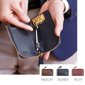 Ride Leather Fastener Key Case Aging Tokyo
