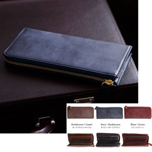 Ride Leather Fastener Wallet Long Wallet Aging Tokyo