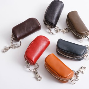 Genuine Leather Key Case Coin Purse Wallet Multi Case Tokyo