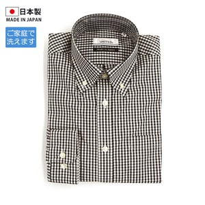 Gingham Check Long Sleeve Shirt