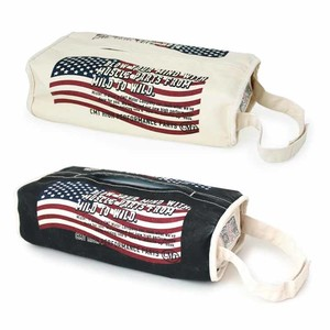 American Flag Design Tissue Box Cover