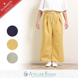 Bag Waist Rope wide pants