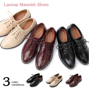 Lace Mannish Shoes Business Casual