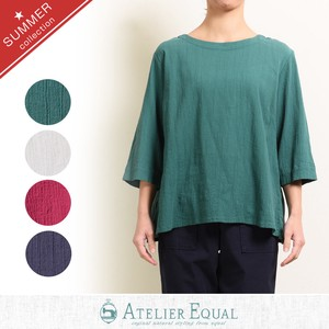 Cotton Toyayanagi Pullover Blouse