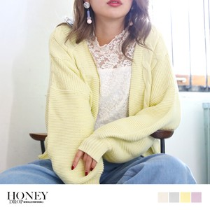 2018 S/S Cable Short Knitted Cardigan Knitted Robe