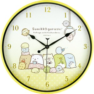 Sumikko gurashi Index Wall Clock At home