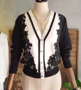 2018 S/S Ladies Bohemian Lace Color Scheme Cardigan