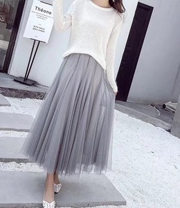 2018 S/S Ladies Flare Skirt