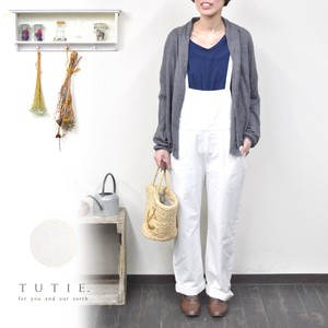 Spring Natural Cotton Linen Overall