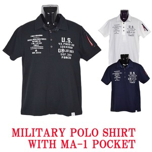 2018 S/S Military Print Attached Polo Shirt