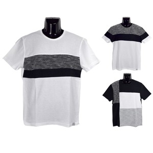 2018 S/S Tuck Jersey Stretch Switching T-shirt