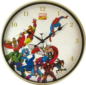 Marvel Index Wall Clock