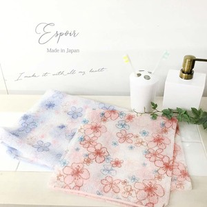 bright Floral Pattern Nylon Body Towel