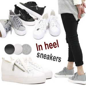2018 S/S Low-rise Sneaker Heel Shoe Ladies
