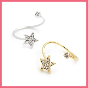 Bright Stone Star Attached Ring