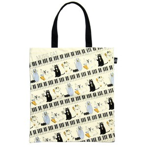 2018 S/S Music Cat Tote Bag