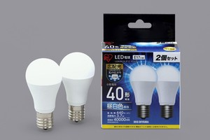 LED Light Bulb Type 2 Pcs Set White Light Bulb Substantially