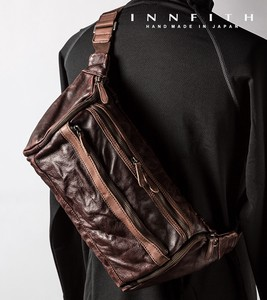 Factory Genuine Leather Body Bag Waist Bag Tokyo