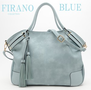Accent Handle Fringe Charm 2WAY BAG Collection