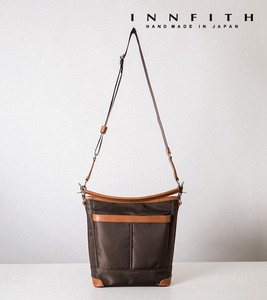 Factory Montana Tan Leather Shoulder Bag B5 Tokyo Water-Repellent