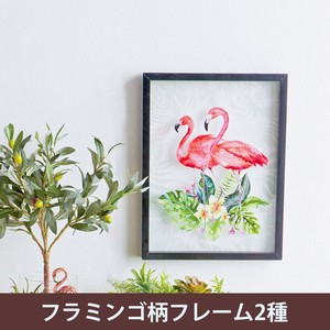 Acrylic Panel Art Frame Flamingo 2 type