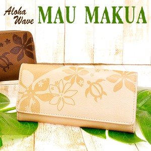 Cover Puise Popular Aloha Wave Series Long Wallet