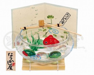 Japanese summer features Ornament Interior Play Set Fishbowl