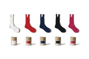 [Men] Cased heavy weight plain socks / Limited color