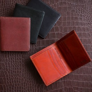 Italian Oil Leather Two Wallet Aging Tokyo