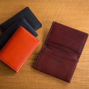 Italian Oil Leather Business Card Holder Tokyo