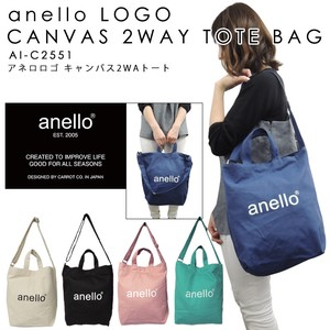 anello Cotton Canvas Tote Bag Shoulder Bag