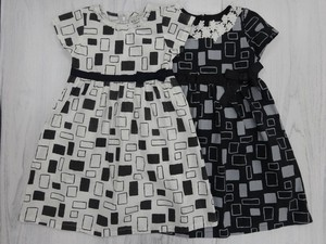 Repeating Pattern One-piece Dress Fabric