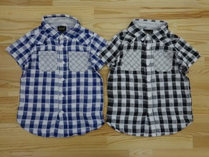 Checkered Gauze Shirt