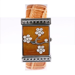 Pole Watch Attached Leather Bangle Watch Ladies Wrist Watch Fashion