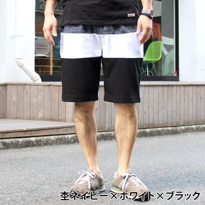 2018 S/S Fleece Dyeing Switching Shorts